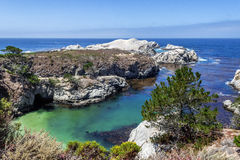 China Cove / Beach in Point Lobos State Natural Reserve Royalty Free Stock Photos