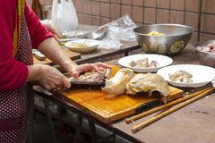 China, creencias religiosas, sacrificios, pollo fotografía de archivo libre de regalías