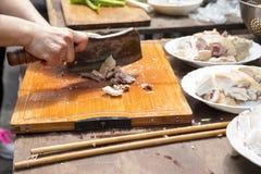 China, creencias religiosas, sacrificios, pollo imagen de archivo libre de regalías