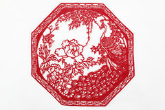 China cut paper by hand Royalty Free Stock Photo