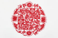 China cut paper by hand Stock Photos