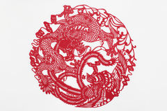 China cut paper by hand Royalty Free Stock Photos