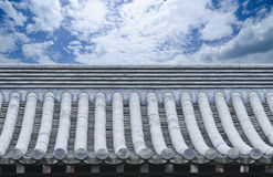 China-Dach stockfotografie