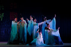 China Dance: the lives of the ancients Stock Images