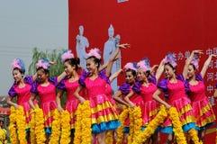 China: Dance performances Stock Photos