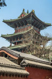 China, das Shaolin-Kloster Stockbild