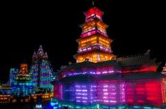 China de Harbin del hielo y del mundo de la nieve Fotos de archivo libres de regalías