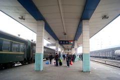 China de Hunan: ferrocarril de huaihua Fotos de archivo libres de regalías