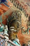 China de las tallas de la roca de Dazu imágenes de archivo libres de regalías
