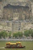 China de luoyang hunan de las grutas de Longmen Fotografía de archivo libre de regalías