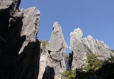 China de piedra de la provincia de yunnan del shilin del bosque Foto de archivo libre de regalías