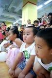 China de Shenzhen: actividad del día de los niños Foto de archivo libre de regalías