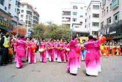 China de Shenzhen: actividades de la adoración del templo Foto de archivo