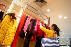 China de Shenzhen: almacén grande del haiya Foto de archivo libre de regalías