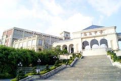 China de Shenzhen: escuela secundaria del tou de nan Imágenes de archivo libres de regalías