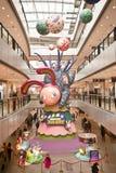 China: Decoração por o ano novo chinês Fotografia de Stock