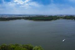 China del lago Jingyue imagen de archivo