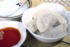 china delicious food—chinese dumpling royalty free stock photos