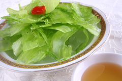 China delicious food--balsam pear Royalty Free Stock Photos