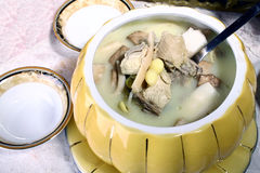 China delicious food-- chicken soup Stock Image