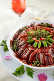 China delicious food-- delicious eel Stock Photos