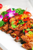 China delicious food--fried pork ribs Stock Photography