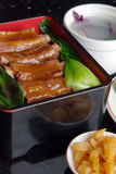 China delicious food-- pork ribs and rice Stock Image