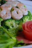 China delicious food--shrimp Royalty Free Stock Image