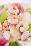 China delicious food--shrimp Stock Image