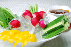 China delicious food--vegetable receive favors swe Royalty Free Stock Images