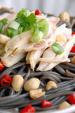 China delicious food—chicken buckwheat noodles Stock Photography