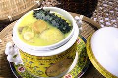China delicious food—sea slug and abalone Stock Photos