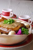 China delicious food—soft-shelled turtle Stock Photos