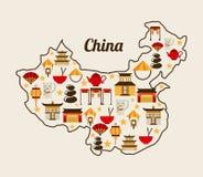 China design Royalty Free Stock Photo
