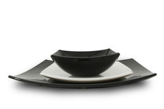 China dinner service. Stock Photo