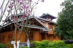 China,the Dong folk houses Royalty Free Stock Photos