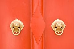 China door Royalty Free Stock Photos