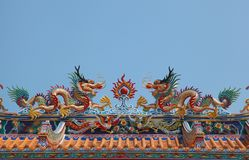 China dragon Stock Photo