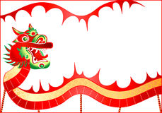 China dragon Royalty Free Stock Images