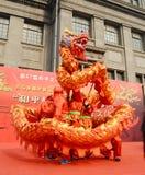 China dragon dances Stock Image