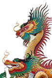 China dragon on isolate Royalty Free Stock Image