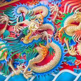 China dragon Stock Photography