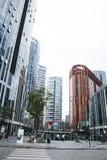 China e Ásia, Pequim, SOHO de Sanlitun, construções modernas, distrito comercial Fotografia de Stock Royalty Free