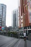 China e Ásia, Pequim, SOHO de Sanlitun, construções modernas, distrito comercial Imagens de Stock