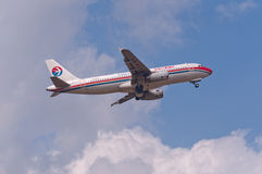China Eastern Airlines surfacent Images libres de droits