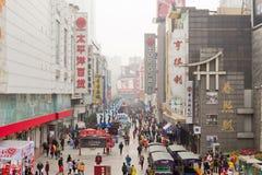 China: Einkaufenstraße Lizenzfreies Stockbild