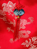 China embroidery pattern Royalty Free Stock Images