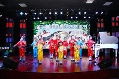 China:Erhu group played Stock Photos