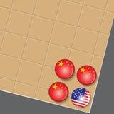 China es el ganador adentro va negocio del juego Fotos de archivo