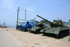 China ex tanks Stock Photo